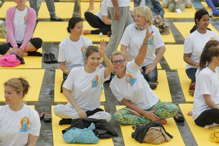 II Международный день йоги — фото 1