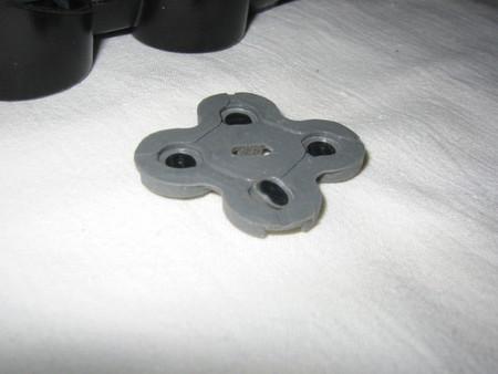 Ремонт джойстика Sony PlayStation (замена резиновых контактов кнопок джойстика) — фото 4