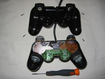 Ремонт джойстика Sony PlayStation (замена резиновых контактов кнопок джойстика) — фото 2