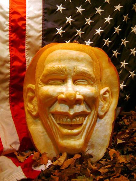 Современный символ Хэллоуина в лицах скульптур Рэя Виллафэйна — фото 13
