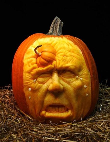 Современный символ Хэллоуина в лицах скульптур Рэя Виллафэйна — фото 8