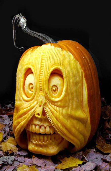 Современный символ Хэллоуина в лицах скульптур Рэя Виллафэйна — фото 10