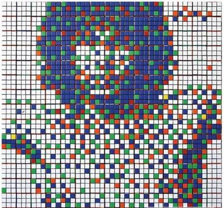 Кубик Рубика - краска для создания картин! — фото 4
