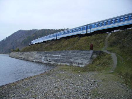 Тот самый экскурсионный поезд.