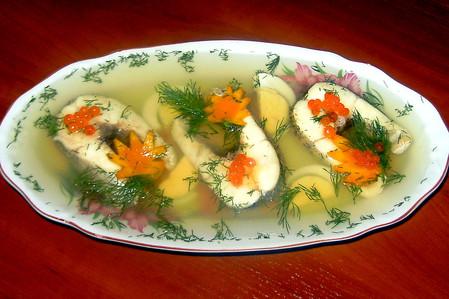 Заливное из щуки пошаговый рецепт с фото