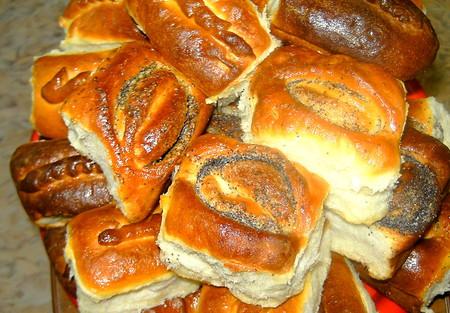 Аппетитные пирожочки и булочки — фото 1