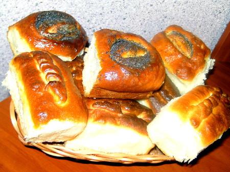Аппетитные пирожочки и булочки — фото 9