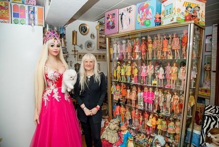 Русская Барби записала интервью с мировой рекордсменкой Беттиной Дорфманн — фото 1