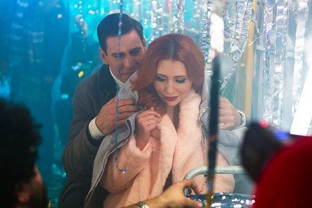 Анастасия Спиридонова сняла новогодний видеоклип с Дмитрием Дюжевым — фото 1