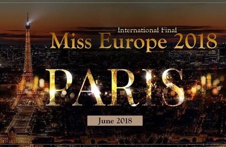 В Париже состоится финал конкурса красоты - Мисс Европа 2018 — фото 1