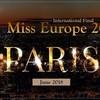 В Париже состоится финал конкурса красоты - Мисс Европа 2018