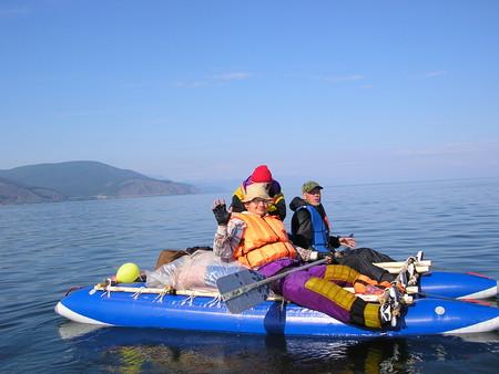 На катамаранах по реке Тыя с выходом в озеро Байкал — фото 6