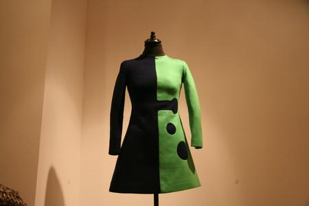 """""""Заглавное"""" платье выставки. Пьер Карден, 1966г"""