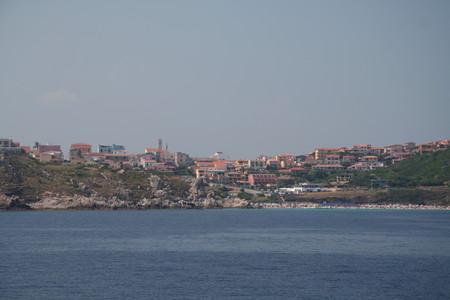 Вид на Санта Тереза с моря
