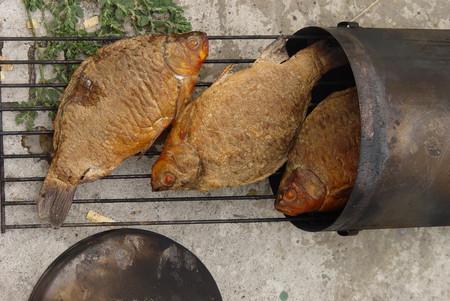 Свежий улов — ну оочень вкусно!