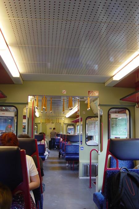 Вот так выглядят вагоны S-Bahn Вены