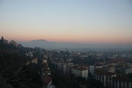 Закат в Бергамо