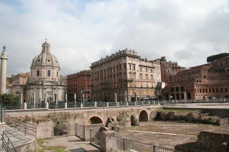 Рим просыпается