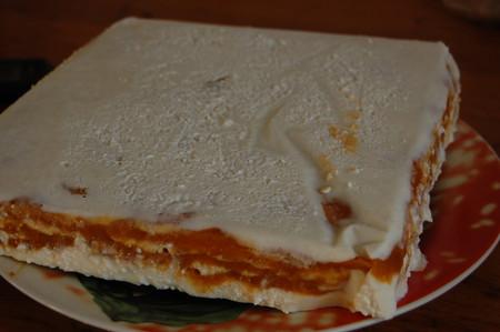 Абрикосовый торт-мороженое — фото 8