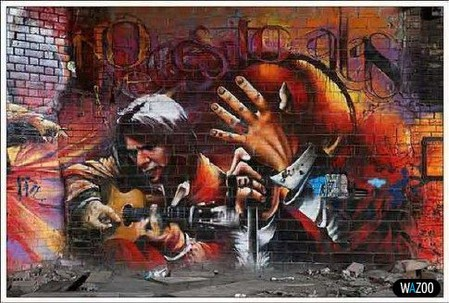 Стрит-арт или граффити — фото 3