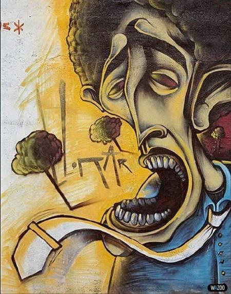 Стрит-арт или граффити — фото 2