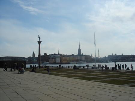 Это вид на старый Стокгольм