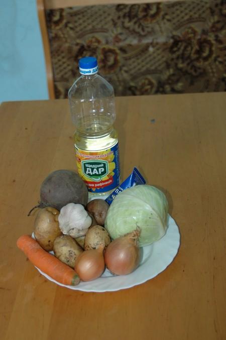 Борщ украинский с мясом и чесноком — фото 2