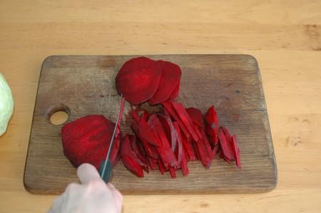 Борщ украинский с мясом и чесноком — фото 4