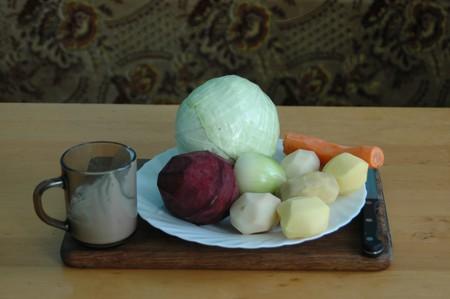 Борщ украинский с мясом и чесноком — фото 3