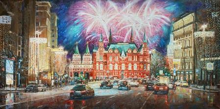 Столица в праздничных огнях — фото 1