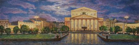 Большой театр глазами художника Игоря Разживина — фото 3