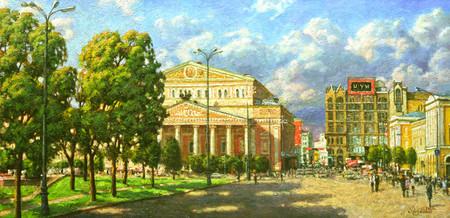 Большой театр глазами художника Игоря Разживина — фото 5