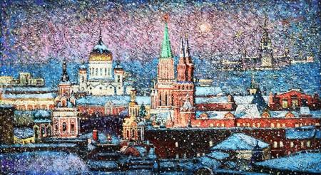 Над Москвой метут метели — фото 1