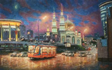 Вечерний свет Москвы 2019 — фото 1