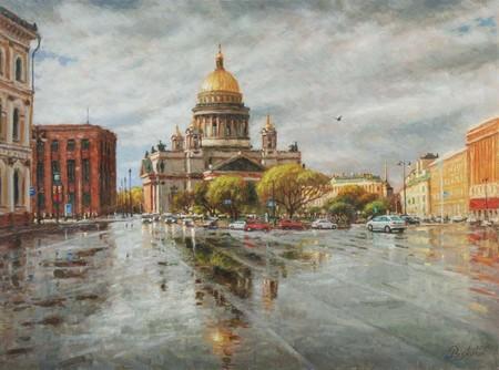 """Промокший Петербург"""