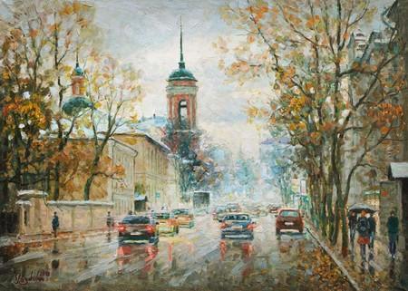Размывает краски дождь — фото 1
