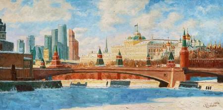 Вид на Большой Кремлевский дворец — фото 1