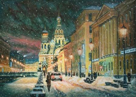 Прогуливаясь по зимнему Петербургу — фото 1