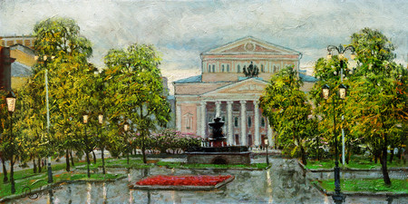 Большой театр глазами художника Игоря Разживина — фото 4
