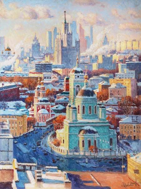 Воспевая красоту зимнего города — фото 1