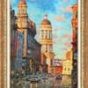 Летний Санкт-Петербург глазами художника Игоря Разживина