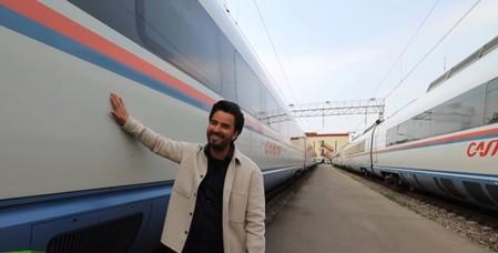 Фирменное несварение из поездов России для мексиканского телеведущего — фото 1