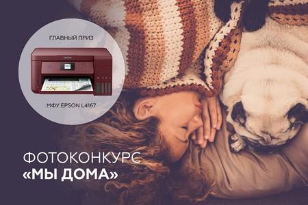Принтер «Фабрика печати Epson» за лучшее домашнее фото — стартует фотоконкурс «Мы дома» — фото 1