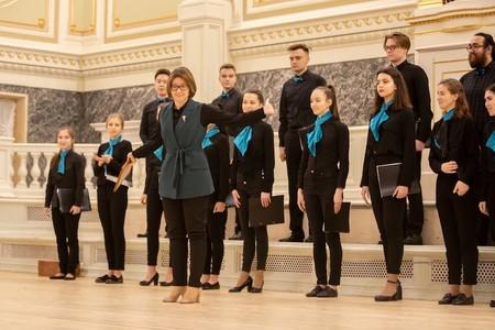 Петербуржцы смогли бесплатно посетить Капеллу в рамках студенческого хорового фестиваля — фото 1