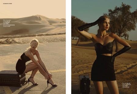 В июльском L'officiel Kazakhstan опубликованы фото модели Оксаны Клочковой — фото 1