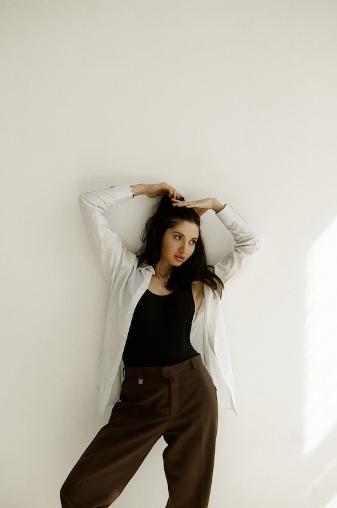 Анастасия Базарова: «Стать моделью в 28 лет, почему бы и нет?» — фото 1