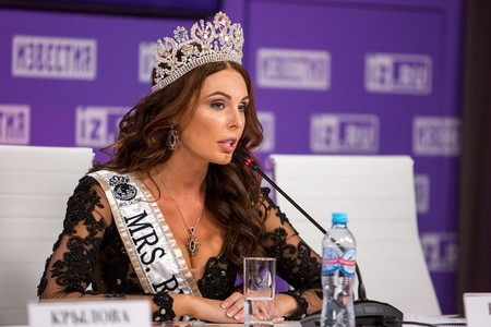 Ксения Кривко показала национальный костюм для конкурса «MRS. GLOBE 2019» — фото 1