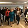 Никас Сафронов провел выставку «Наша эпоха в лицах современников» в Совете Федерации