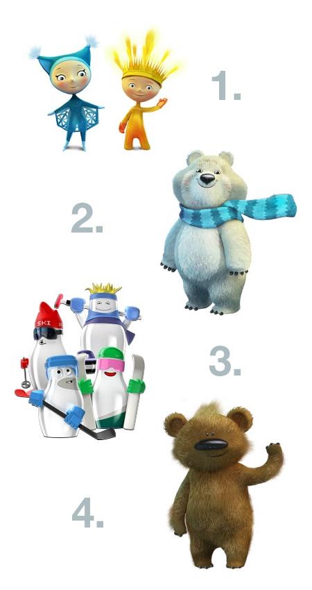 Выборы талисмана Олимпиады в Сочи 2014. С кем будем побеждать? — фото 2