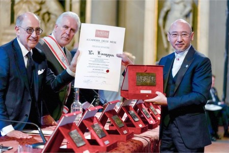 Международная премия Le Muse вручена китайскому скульптору Ли Сянцюнь — фото 1